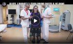 """A 16 anni cammina per la prima volta: """"miracolo"""" della medicina a Villa Beretta VIDEO"""