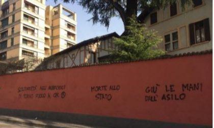 Scritte anarchiche in città: Andrea Torri replica a Zamperini