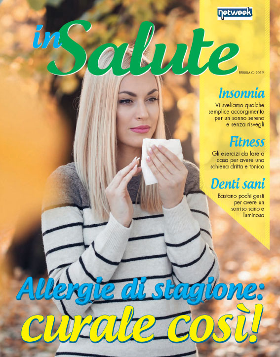 E' in edicola coi nostri giornali la rivista inSalute!