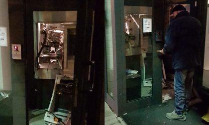 Bancomat esploso, questa notte è tornata la banda del gas FOTO