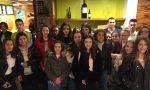 Arte in pizzeria con gli studenti di Cernusco Lombardone FOTO