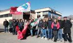 Gli operai della Maggi Catene incrociano le braccia: picchetto davanti all'azienda FOTO