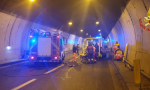Ambulanza tamponata in galleria: è morto il paziente trasportato