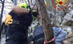 Salvati dai Vigili del Fuoco: la testimonianza e il grazie di due escursionisti FOTO