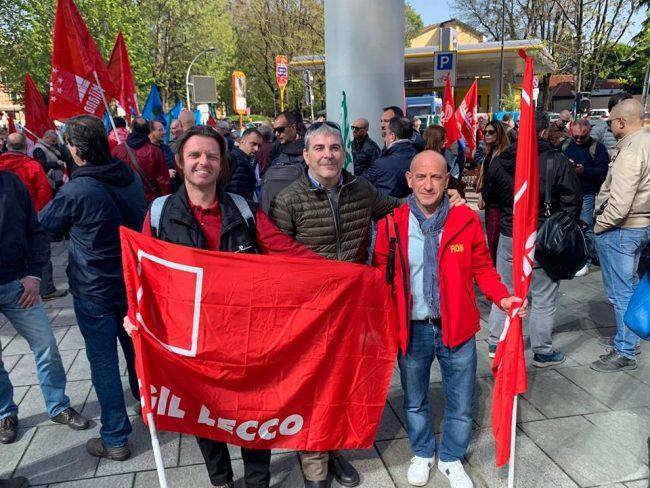 Basta morti sul lavoro: sindacati in piazza FOTO