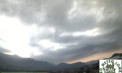 Oggi nubi e piovaschi sparsi: da domani peggiora nel Lecchese PREVISIONI METEO