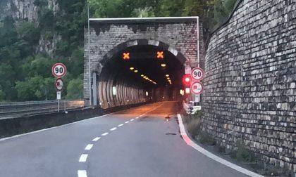 Frana all'altezza di Lierna, Ss36 chiusa al traffico tra Abbadia e Bellano