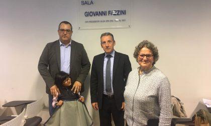 La Sala Assemblee di Silea intitolata alla memoria del primo presidente Giovanni Fazzini FOTO