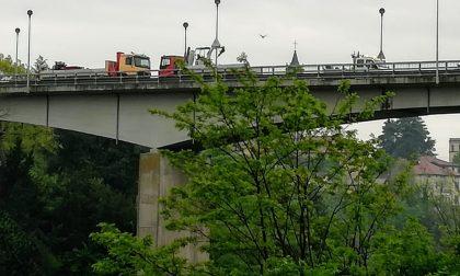 Ufficializzata la nuova chiusura del ponte di Trezzo sull'Adda