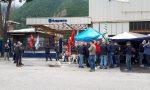 Husqvarna: prosegue il presidio parmanente fuori dall'azienda di Valmadrera FOTO