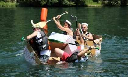 "Al ""Maggio Imbersaghese 2019"", raduno dei Gruppi di cammino Soap Kayak Race"