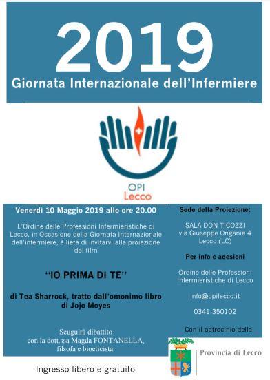 Il 12 Maggio A Lecco Si Celebra La Giornata Internazionale Degli Infermieri Prima Lecco