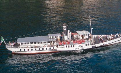 Gita sul lago a bordo dello storico battello Concordia