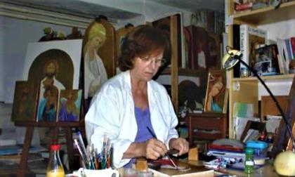 Novate ha salutato Leda Donato Rizzi, un'artista col sacro nel cuore