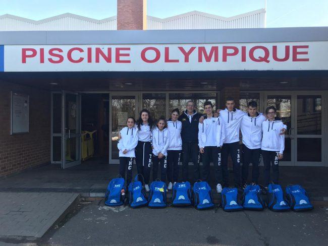 Il Team Nuoto Calusco al «Seraing Swimming Grand Prix» FOTO