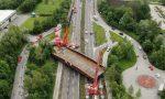 """Montaggio del ponte ad Annone, secondo giorno di """"passione"""""""