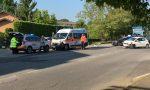 Scontro auto moto, diciottenne in ospedale FOTO