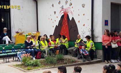 Calolzio: inaugurato il nuovo murales alla Primaria di Foppenico FOTO