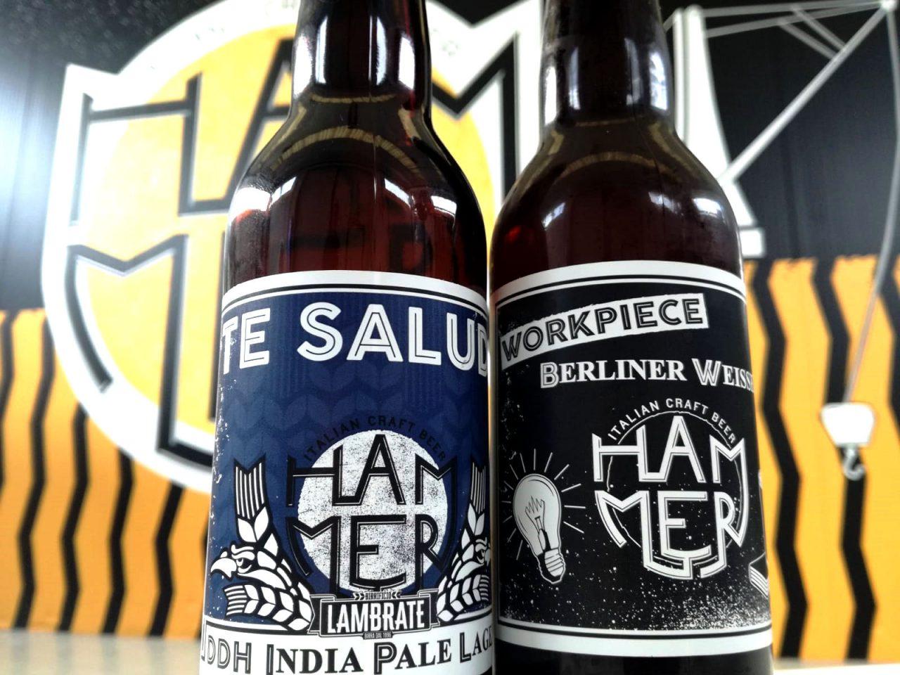 berliner te saludi 4° Compleanno Hammer, sabato festa al birrificio di Villa d'Adda