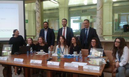 Alternanza scuola lavoro: studentesse del Parini a Banca d'Italia FOTO
