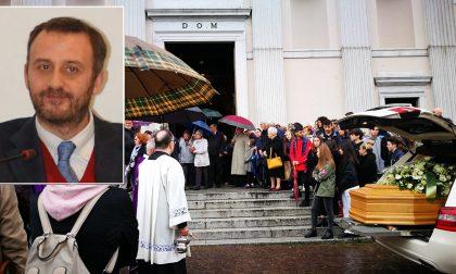 Commosso addio a Marco Deriu in basilica a Lecco