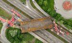 Risorge il ponte di Annone: al varo LE IMMAGINI E IL VIDEO