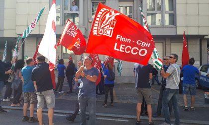 Crisi Husqvarna: confermati gli esuberi nel vertice in Confindustria e visita del segretario della Cisl FOTO