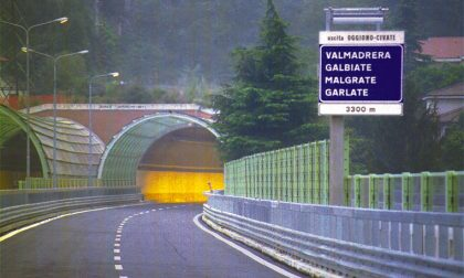 Ancora lavori sulla Statale 36: da oggi e fino al 23 febbraio chiude di notte il Tunnel del Barro verso Milano