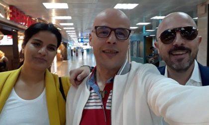 Azouz Marzouk è tornato in Italia ed è a Lecco