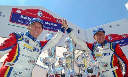 Trionfo per la Porsche made in Colico al Rally Lana