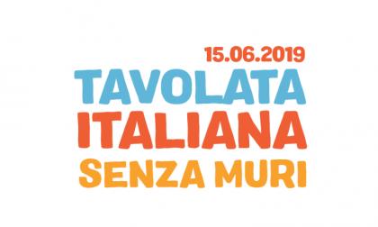 Tavolata italiana senza muri a Barzio