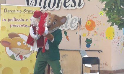 Festa di fine anno al Collegio Villoresi con Geronimo Stilton