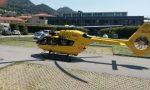 Non c'è pace: ancora un incidente auto moto a Calolzio, 21enne in ospedale FOTO