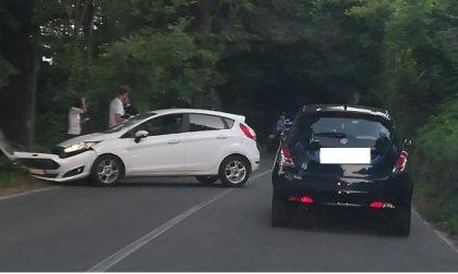 Auto fuori strada a Monticello