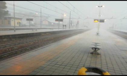 Maltempo, treni in ritardo sulla linea Milano - Verona