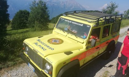 Doppio intervento sulle montagne: recuperati due escursionisti, uno è codice giallo