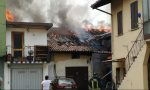Incendio a Robbiate, devastate dalle fiamme due corti e tre palazzine FOTO e VIDEO