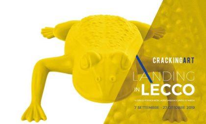 Cracking Art Landing in Lecco: 36 installazioni artistiche in città