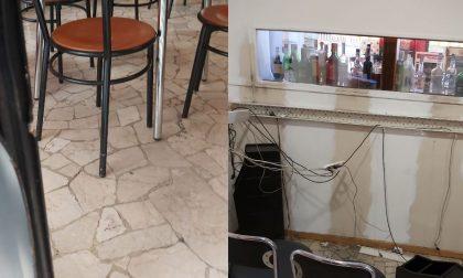 Furto con scasso in un bar del centro: 12mila euro il bottino FOTO