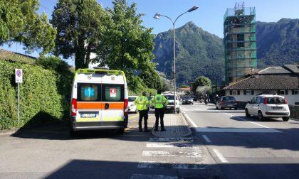Incidente auto moto a Abbadia