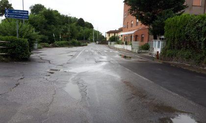 Forti temporali sul Lecchese:  dopo l'esondazione del Bevera a Bulciago si torna alla normalità FOTO