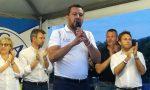 """Salvini da Barzago: """"Rubli? L'unico finanziamento sono salamelle e patatine"""" VIDEO"""
