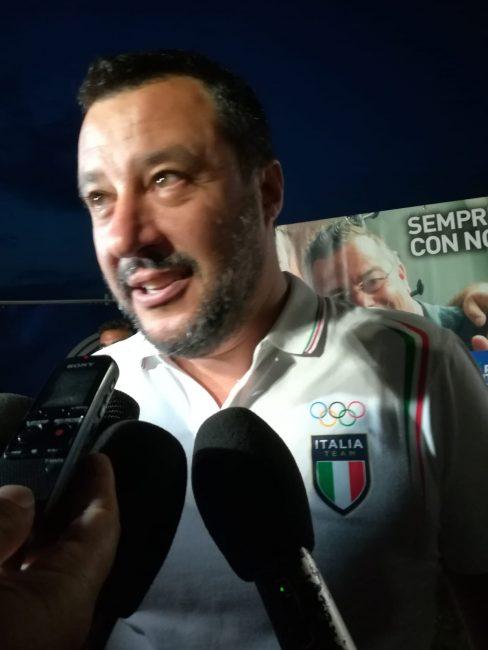 """Salvini da Barzago: """"In Di Maio ho fiducia, non negli altri ministri"""" VIDEO"""