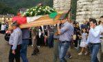 Folla ai funerali dell'alpino e reduce Fedele Balossi FOTO