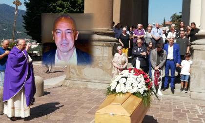 Folla ai funerali: tutto il Lecchese piange Teli FOTO