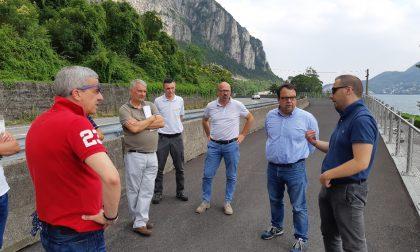 Ciclabile Lecco-Abbadia: rinviati a settembre i lavori di completamento del primo stralcio