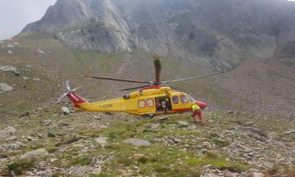 Due alpinisti dispersi, intervento del soccorso Alpino sul Pizzo Varrone FOTO