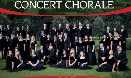 Stasera a Lecco straordinario concerto del coro dell'Università di Houston