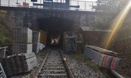 Ponte di Paderno: iniziati i lavori alla galleria artificiale