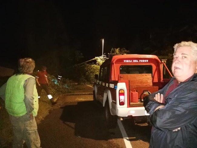 Nubifragio Oggionese: emergenza rientrata, strade riaperte